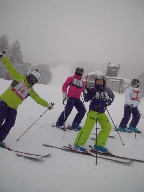 滋賀県スキー技術選