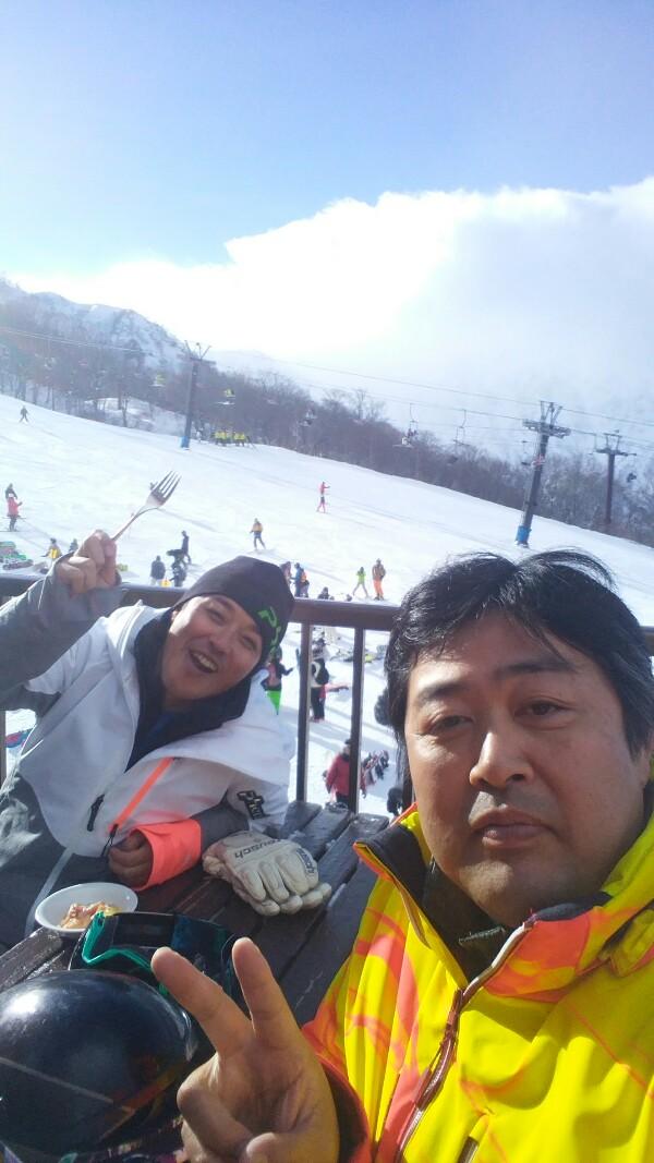 元旦スキー