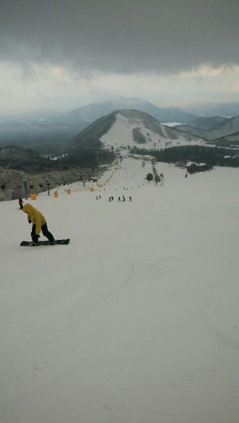 再び大山スキー場