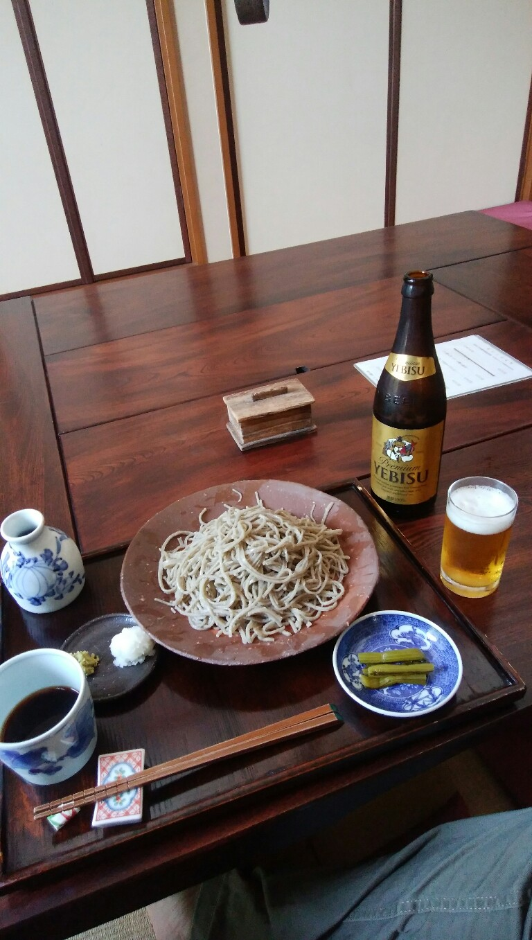 うどん県の蕎麦屋美味し