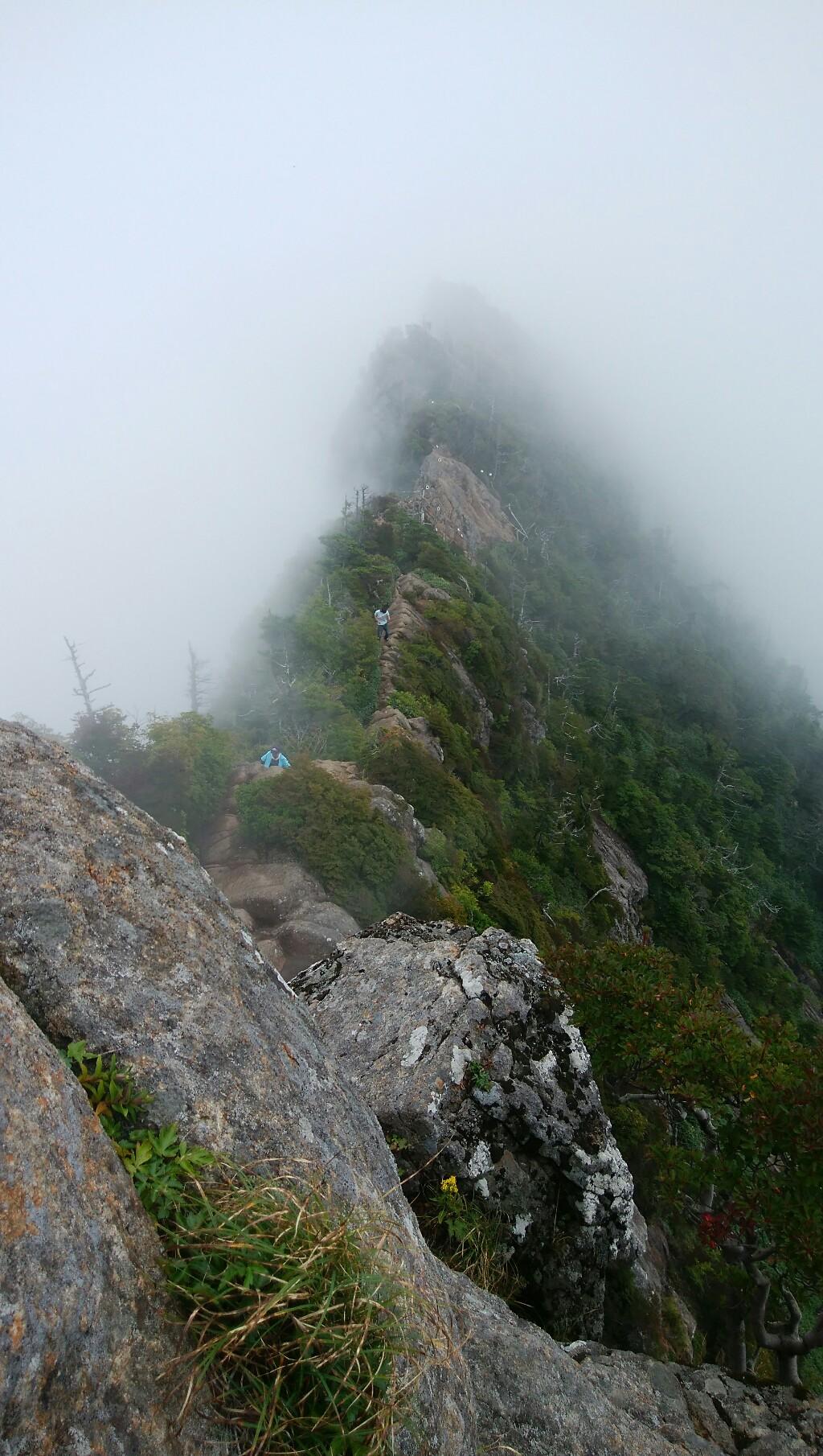 石鎚山登山